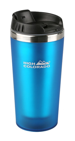 High Colorado Thermo-Reisebecher Drinkfles 400ml blauw